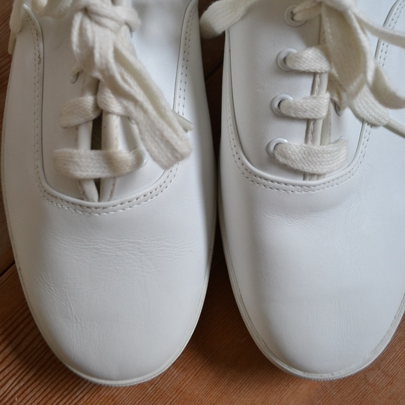 61fe58e82d9 1991 NEW KEDS White Leather Tennis Shoes 8.5W